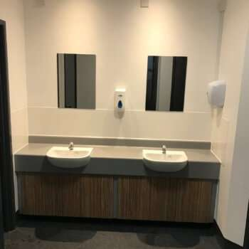 New Toilet & Shower Facilities at Snowsports Club