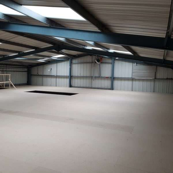 Warehouse Refurbishment Update