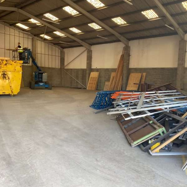 Strip Out Works Complete