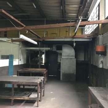 Strip Out Works at Former Car Garage