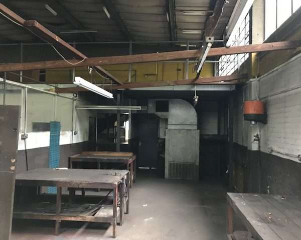 Strip Out Works at Former Car Garage