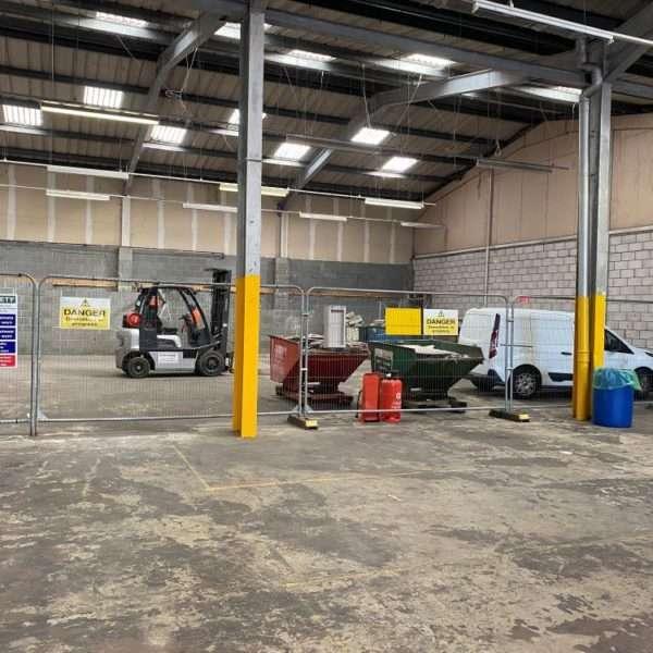 Wall Removal at Warehouse Unit
